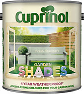 Cuprinol Garden Shades Fresh rosemary Matt Wood paint 2.5L