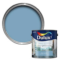 Dulux Travels in colour Teal façade blue Flat matt Emulsion paint, 2.5L