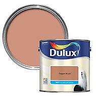 Dulux Copper blush Matt Emulsion paint, 2.5L