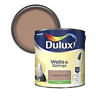 Dulux Copper blush Silk Emulsion paint, 2.5L