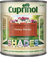 Cuprinol Garden Shades Honey mango Matt Wood paint 1L