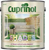 Cuprinol Garden Shades Olive garden Matt Wood paint 2.5L