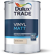 Dulux Trade Natural hessian Vinyl matt Emulsion paint, 5L