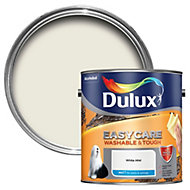 Dulux Easycare White mist Matt Emulsion paint 2.5L