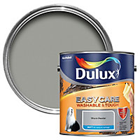 Dulux Easycare Warm pewter Matt Emulsion paint, 2.5L