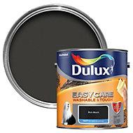 Dulux Easycare Rich black Matt Emulsion paint 2.5L