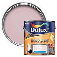 Dulux Easycare Blush pink Matt Emulsion paint, 2.5L