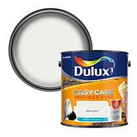 Dulux Easycare White cotton Matt Emulsion paint 2.5L