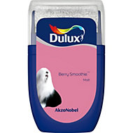 Dulux Standard Berry smoothie Matt Emulsion paint 0.03L Tester pot