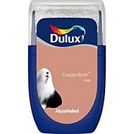 Dulux Standard Copper blush Matt Emulsion paint 0.03L Tester pot