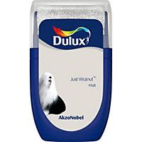 Dulux Standard Just walnut Matt Emulsion paint 0.03L Tester pot