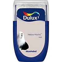 Dulux Standard Mellow mocha Matt Emulsion paint 0.03L Tester pot