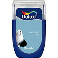 Dulux Standard Nordic sky Matt Emulsion paint 0.03L Tester pot