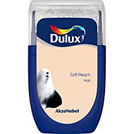 Dulux Standard Soft peach Matt Emulsion paint 0.03L Tester pot