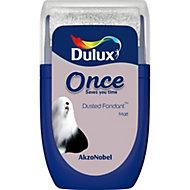 Dulux Once Dusted fondant Matt Emulsion paint 0.03L Tester pot