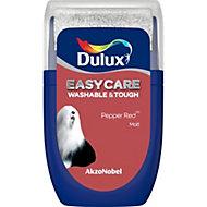 Dulux Easycare Pepper red Matt Emulsion paint 0.03L Tester pot