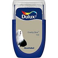 Dulux Standard Overtly olive Matt Emulsion paint 0.03L Tester pot