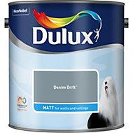 Dulux Standard Denim drift Matt Emulsion paint 2.5L