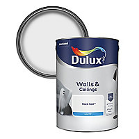 Dulux Rock salt Matt Emulsion paint, 5L