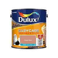 Dulux Easycare Copper blush Matt Emulsion paint, 2.5L