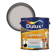 Dulux Easycare Perfectly taupe Matt Emulsion paint, 2.5L
