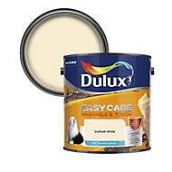 Dulux Easycare Daffodil white Matt Emulsion paint, 2.5L