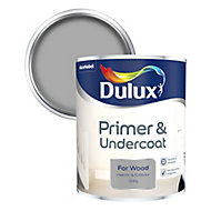 Dulux Grey Wood Primer & undercoat, 0.75L