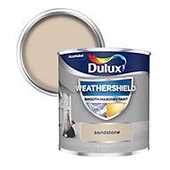 Dulux Weathershield Sandstone Smooth Matt Masonry paint 0.25L Tester pot