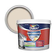 Dulux Weathershield Sandstone Smooth Matt Masonry paint 10L