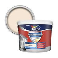 Dulux Weathershield Magnolia Textured Matt Masonry paint 10L