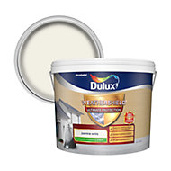Dulux Weathershield ultimate protection Jasmine white Smooth Matt Masonry paint 10L