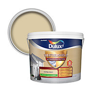 Dulux Weathershield ultimate protection County cream Smooth Matt Masonry paint 10L