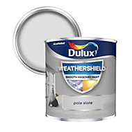Dulux Weathershield Pale slate Smooth Matt Masonry paint 0.25L Tester pot