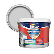 Dulux Weathershield Pale slate Smooth Matt Masonry paint 10L