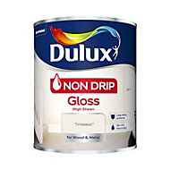 Dulux Non drip Timeless Gloss Metal & wood paint, 0.75L