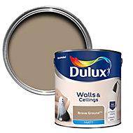Dulux Walls & ceilings Brave Ground Matt Emulsion paint 2.5L