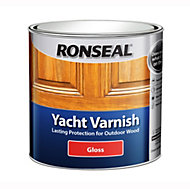 Ronseal Clear Gloss Yacht varnish 1L
