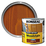 Ronseal Antique pine Satin Wood stain, 2.5