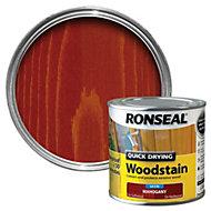 Ronseal Mahogany Satin Woodstain 0.25L