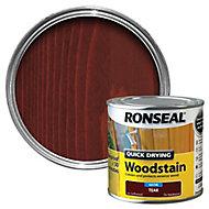 Ronseal Teak Satin Wood stain, 0.25L