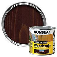 Ronseal Walnut Satin Wood stain, 0.25L