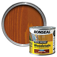 Ronseal Antique pine Satin Wood stain, 0.25L