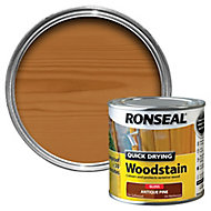 Ronseal Antique pine Gloss Wood stain, 0.25L