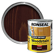 Ronseal Walnut Gloss Wood stain, 0.75L