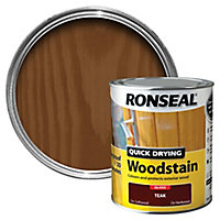 Ronseal Teak Gloss Wood stain, 0.75L