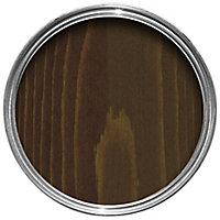 Ronseal Dark oak Gloss Wood stain, 0.75L