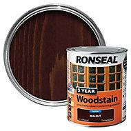 Ronseal Walnut High satin sheen Wood stain, 0.75L