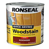 Ronseal Rosewood Gloss Woodstain 0.75L