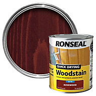 Ronseal Rosewood Satin Wood stain, 0.75L