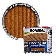 Ronseal Natural cedar Decking Wood oil, 2.5L